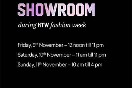 Showroom during the second edition of KTW Fashion Week