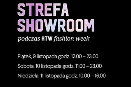 Strefa Showroom podczas drugiej edycji KTW Fashion Week