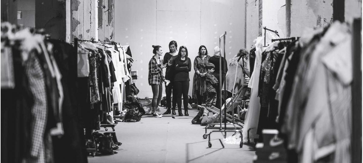 backstage KTW Fashion Week .one